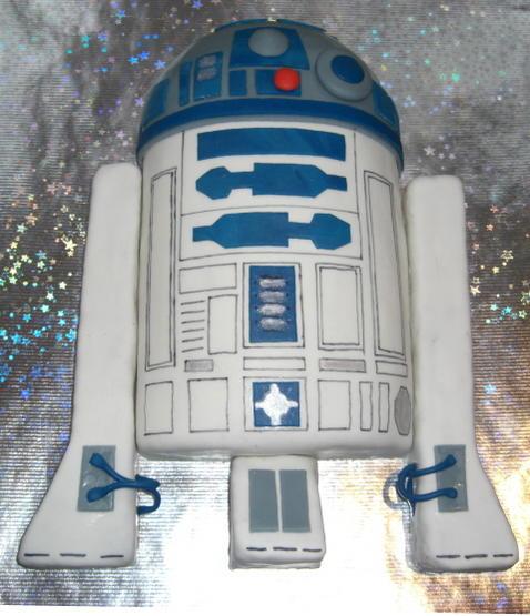 Sehr Bekannter Roboter Als Torte Schnullerfamilie Das